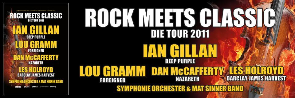 Rückblick Auf Die Rock Meets Classic Tournee 2011