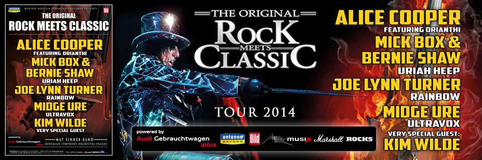 Rock Meets Classic Tour 2014